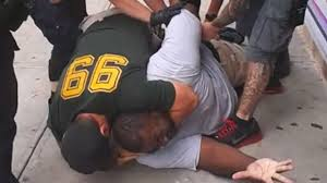 The final moments of Eric Garner's life.