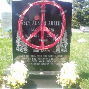 Casey Sheehan dies in the Iraq War. His mother, Cindy  is an activist for peace. In my eyes, she is an American hero.