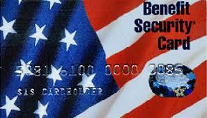 "A North Carolina EBT, of ""food stamp"" card."