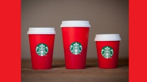 "Really? You're outraged over a coffee cup design? Perhaps you need to rethink the meaning of ""Christmas."""