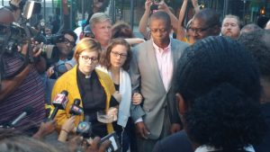 Clergy from around NC and other parts of the country led a peaceful protest in Charlotte Thursday night. No none was violent and no one was injured.